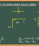 Bài giảng lý thuyết  mạch điện