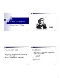 Phần VI: Đại Số Bool và hàm Bool