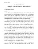 ĐỀ TÀI THUYẾT MINH NINH KIỀU – CHỢ NỔI CÁI RĂNG – VƯỜN MỸ KHÁNH