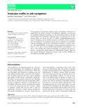 Báo cáo khoa học: Vesicular traffic in cell navigation