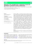 Báo cáo khoa học: Glutamine and a-ketoglutarate as glutamate sources for glutathione synthesis in human erythrocytes