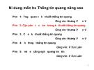 Bài giảng thông tin quang nâng cao - Phần 4