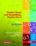 Number Sense and Numeration, Grades 4 to 6 Volume 1 The Big Ideas