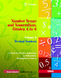 Number Sense and Numeration, Grades 4 to 6 Volume 6 Decimal Numbers