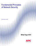 Fundamental Principles  of Network Security