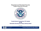 Department of Homeland Security Federal Network Security