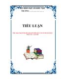 TIỂU LUẬN: Thực trạng công tác tiếp dân, giải quyết khiếu nại, tố cáo trên địa bàn huyện Than Uyên – Lai Châu
