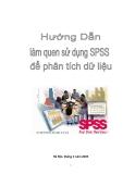 Hướng dẫn làm quen với SPSS để phân tích dữ liệu