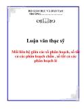 Luận văn thạc sỹ: Mối liên hệ giữa các số phân hoạch, số tất cả các phân hoạch chẵn , số tất cả các phân hoạch lẻ
