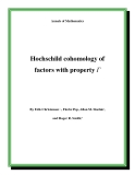 "Đề tài "" Hochschild cohomology of factors with property Γ """