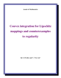 "Đề tài "" Convex integration for Lipschitz mappings and counterexamples to regularity """