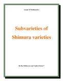 """Đề tài """" Subvarieties of Shimura varieties """""""