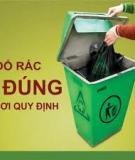 Cộng đồng cùng tham gia bảo vệ môi trường