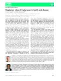 Báo cáo khoa học: Regulatory roles of hyaluronan in health and disease