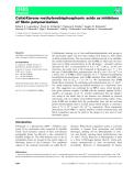 Báo cáo khoa học: Calix[4]arene methylenebisphosphonic acids as inhibitors of fibrin polymerization