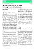Báo cáo khoa học: S1 – The genome in the 3rd millennium