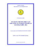 Khóa luận tốt nghiệp: Xây dựng thương hiệu gạo cho Cty cổ phần GENTRACO giai đoạn 2008 - 2012