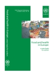 Sách: Food and health in Europe: a new basis for action