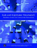Fair And Equitable Treatment  - Progress Made And Challenges Remaining