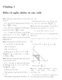 Bài giảng Chương 1 Biến cố ngẫu nhiên và xác suất