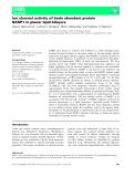 Báo cáo khoa học: Ion channel activity of brain abundant protein BASP1 in planar lipid bilayers