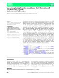 Báo cáo khoa học: Lysophosphatidylcholine modulates fibril formation of amyloid beta peptide