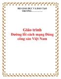 Giáo trình Đường lối cách mạng Đảng Cộng sản Việt Nam