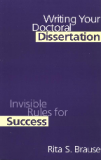 Writing your doctoral disserrtation