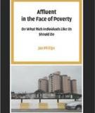 Affluent In The Face Of Poverty -  On What Rich Individuals Like Us Should Do