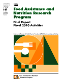 Food Assistance And Nutrition Research Program Final Report - Fiscal 2010 Activities.pdf