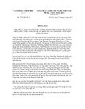 Thông báo số 327/TB-VPCP
