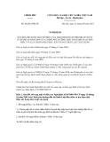 Nghị định số 68/2012/NĐ-CP