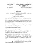 Quyết định số 2367/QĐ-BTC