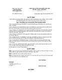 Quyết định số 189/QĐ-HQQNg