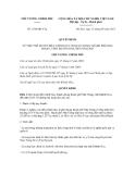 Quyết định số 1396/QĐ-TTg