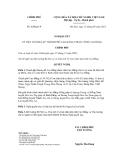 Nghị quyết số   60/NQ-CP
