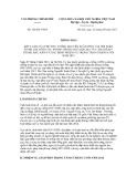 Thông báo số 324/TB-VPCP