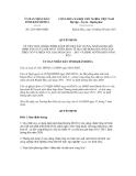 Quyết định số 2233/QĐ-UBND