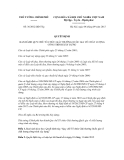 Quyết định số  36/2012/QĐ-TTg