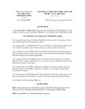 Quyết định số 215/QĐ-HQĐT