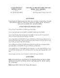 Quyết định số 284/2012/QĐ-UBND