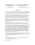 Thông báo số 4734/TB-BNN-VP