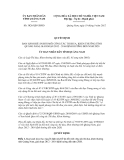 Quyết định số 3026/QĐ-UBND