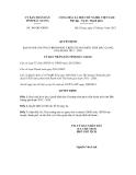 Quyết định số 306/QĐ-UBND