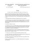 Chỉ thị số 172/CT-BVHTTDL