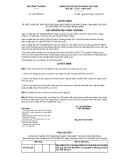 Quyết định số 5737/QĐ-BCT