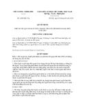 Quyết định số 1209/QĐ-TTg