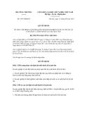 Quyết định số  5353/QĐ-BCT