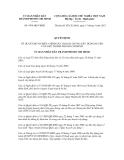 Quyết định số 4766/QĐ-UBND