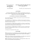Quyết định số 492/QĐ-HQTH